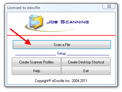 how to save different scans in one pdf